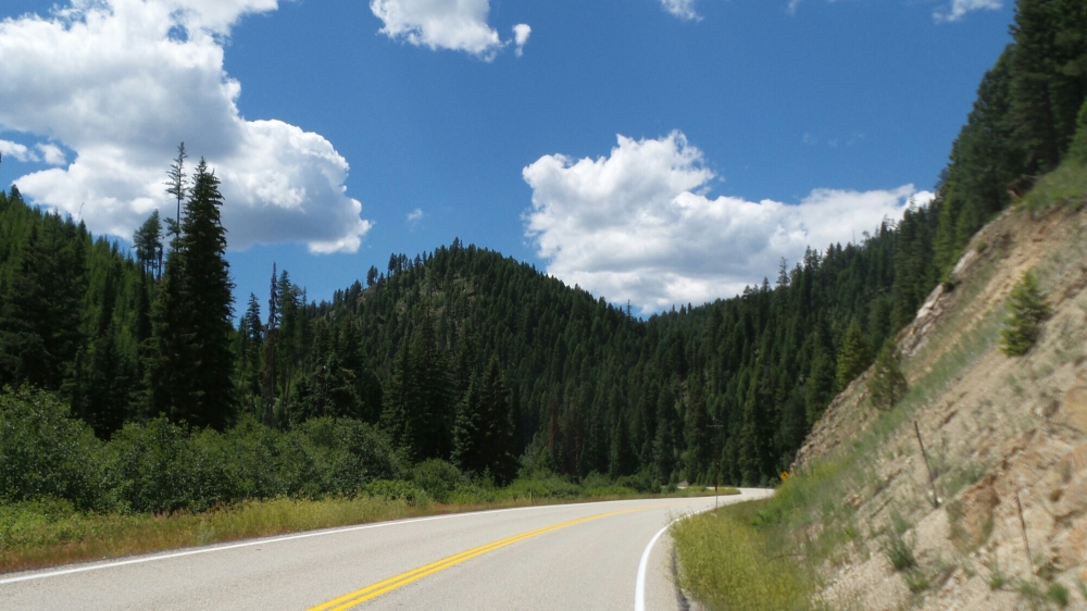 Heading Up To Lolo Pass