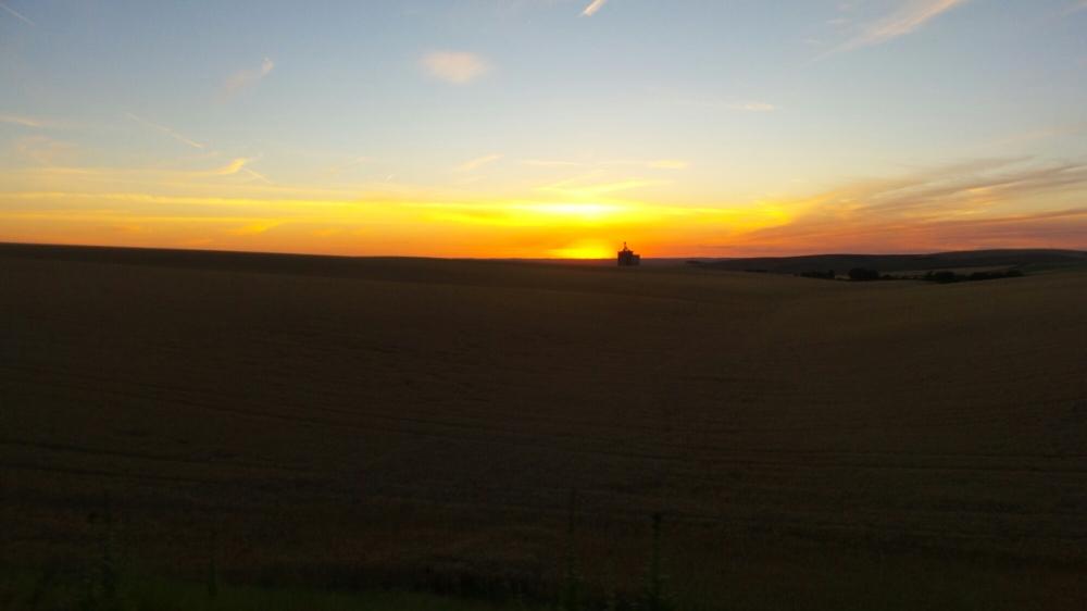 Sunset in Walla Walla