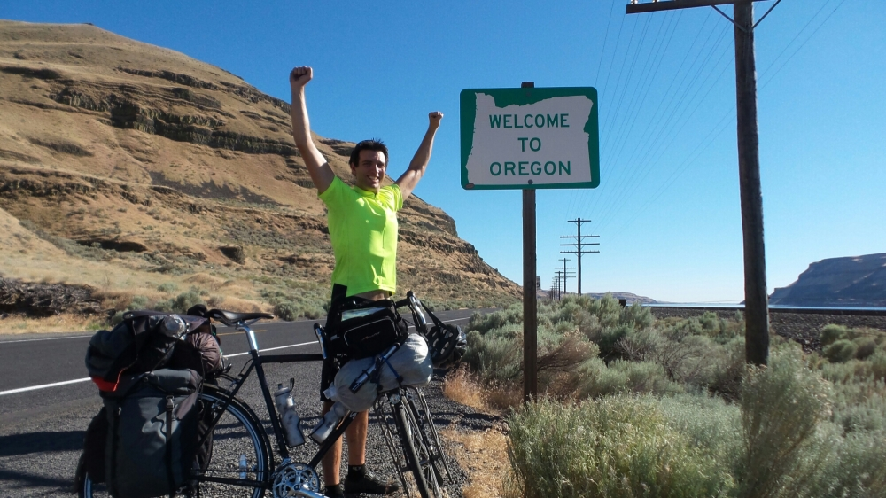 Oregon!!! Almost there!